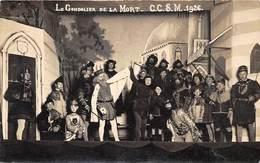 """78-CONFLANS - CARTE PHOTO A VERIFIER - THEATRE """" LE GONDILIER DE LA MORT """" C.C.S.M. 1926 - Conflans Saint Honorine"""