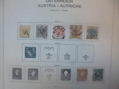 AUTRICHE 1850-1937 + LOMBARDIE-VENETIE+BUREAU DE TURQUIE+BOSNIE+QUELQUES SERVICES.MAJORITES OBLITERES - 1850-1918 Impero
