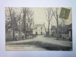 CASTELNAU-RIVIERE-BASSE  (Hautes-Pyrénées)  :  Avenue De La  GARE   1919   XXX