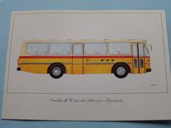 OMNIBUS III-H 1977 Der Schweizer Reisepost ( PTT 995.28 VI 83 3000 Qu 220 ) ( Voir/zie Foto´s Voor Details ) Suisse ! - Transports