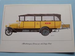 ALLWETTERWAGEN BERNA 1921 Der Eidg. Post ( PTT 995.22 VI 83 3000 Qu 220 ) ( Voir Photo ) Suisse ! - Transports