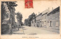 78-ACHERES- AVENUE DE CONFLANS - Acheres