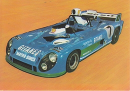 MATRA SIMCA 670 B Vainqueur Des 24 H  Du MANS  1974 - Le Mans