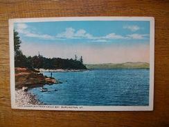 états-unis , Vermont , Burlington , Lake Champlain From Eagle Bay - Burlington