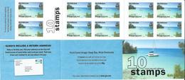 Bermuda 2008 Bays And Inlets - Self Adhesive.boats,sailing Booklet Carnet DEEP BAY WEST PEMBROKE.MNH - Bermudes