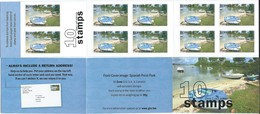Bermuda 2008 Bays And Inlets - Self Adhesive.boats Booklet Carnet SPANISH POINT PARK.ZONA 1 U.S.and Canada.MNH - Bermudes