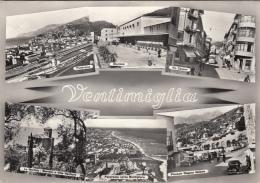 Italie - Ventimiglia - Gare Chemin De Fer - Via Cavour - Douane Frontière - Imperia