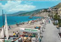 Italie - Ventimiglia - La Spiaggia - Plage Bâteaux Voiliers - Imperia