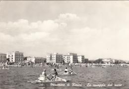 Italie - Miramare Di Rimini - La Spiaggia Dal Mare - Pédalos - Rimini