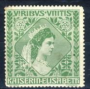 Erinnofili, Austria 1880, L'imperatrice Elisabetta 'Viribus Unitis' - Italie