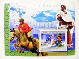 SALE! Guinea M/s 2007 Sport  Athens 2004 Olympic Games Horse Canoe Cayak - Guinea (1958-...)