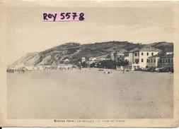 Marche-pesaro-gabicce Mare Anni 30 Veduta Della Spiaggia Dell'epoca - Italia