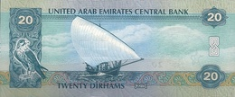 U.A.E. P. 28c 20 D 2015 UNC - Emirats Arabes Unis