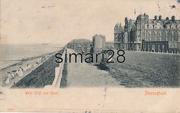 SHERINGHAM - N° 19021 - WEST CLIFF AND HOTEL - Non Classés