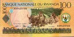 RWANDA  100 FRANCS Du 1-5-2003  Pick 29a  UNC/NEUF - Rwanda