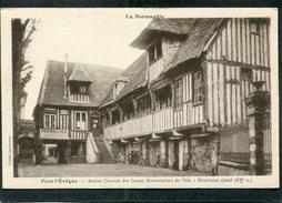 CPA - PONT L'EVEQUE - Ancien Couvent Des Dames Dominicaines De L'Isle - Pont-l'Evèque
