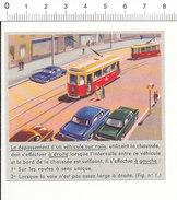 Image Dépassement D'un Véhicule Su Rail Tramway   // IM 5/90 - Unclassified