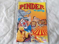 CIRQUE PINDER JEAN RICHARD Programme 1998 - Programmi