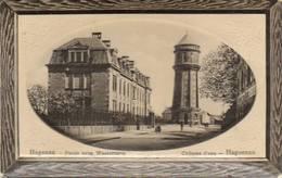 CPA - HAGUENAU (67) - Aspect Du Quartier Du Château D'eau En 1919 - Haguenau