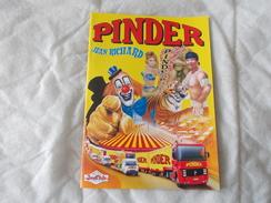 CIRQUE PINDER JEAN RICHARD Programme 1999 - Programmi