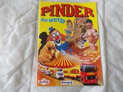 CIRQUE PINDER JEAN RICHARD Programme 2000 - Programmi