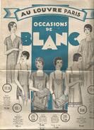 G-I-E , Publicité , AU LOUVRE , PARIS , 1928 , 6 Pages , Lingerie... , Frais Fr : 1.55€ - Werbung