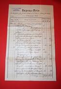 Expens - Note, Dr Raimund Rziha, Advokat, Modling, Austro Hungarian Monarchy, 1900. Years - Documents Historiques