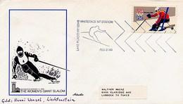 USA -  LAKE PLACID - OLYMPIC GAMES - WHITEFACE MT - WOMEN GIANT SLALOM - Hiver 1980: Lake Placid