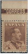 ES323TV-LFT***323STCFR.España.Spain. Espagne.REY ALFONSO Xlll.VAQUER .1922/30.(Ed 323**)  Sin  Charnela - Familias Reales