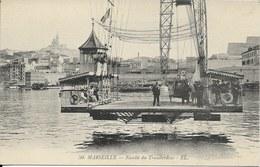 Cpa Marseille, Nacelle Du Transbordeur - Vieux Port, Saint Victor, Le Panier