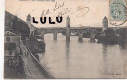 DEPT 46 : édit. E Dreuilhe A Cahors ; Pont Valentré Vue Est - Cahors