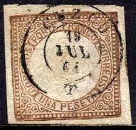 01257 Peru 9 Brasão Lhama Com Microfuro U - Peru