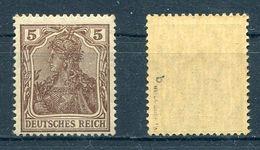 Deutsches Reich Michel-Nr. 140b Postfrisch - Geprüft - Ungebraucht