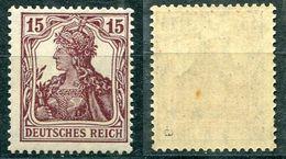 Deutsches Reich Michel-Nr. 142a Postfrisch - Geprüft - Deutschland