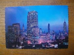 états-unis , New York City, Night Falls On Midtown Manhattan - Multi-vues, Vues Panoramiques