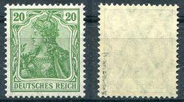 Deutsches Reich Michel-Nr. 143b Postfrisch - Geprüft - Ungebraucht
