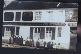 AISNE HOTEL DE LA GROSSE TETE POUR FAMILLE PTOIX A BERGUES 02    CP PHOTO  NEW - Agricultura