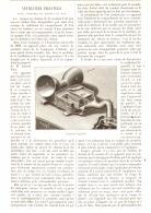 """VENTILATEUR  """" PIGNATELLI """"  Pour VOITURE DE CHEMIN DE FER  1890 - Chemin De Fer"""