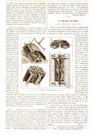 LA SCIENCE PRATIQUE    ( BROSSE MECANIQUE POUR TAPIS )   1890 - Unclassified