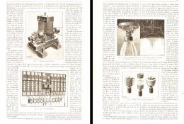 L'ECLAIRAGE ELECTRIQUE EN AMERIQUE ( Le Systéme Municipal EDISON )  1890 - Non Classificati