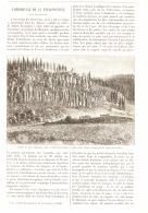 L'OBSIDIENNE DE LA YELLOWSTONE Aux ETATS-UNIS   1890 - Minéraux & Fossiles