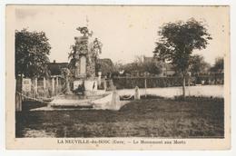 27 - La Neuville-du-Bosc           Le Monument Aux Morts - France