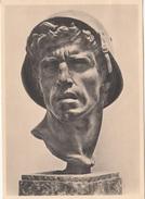 """Haus Der Deutschen Kunst, """"""""Nach Dem Kampf"""" (After The Battle) By Hans Bühler Postcard Unused B170401 - Sculptures"""