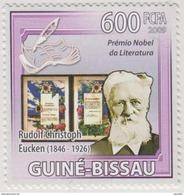Rudolf Christoph Eucken, German Philosopher, Nobel Prize In Literature, MNH - Prix Nobel