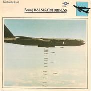 Fiches Illustrées - Caractéristiques Avions - Bombardier Lourd - Boeing B-52 STRATOFORTRESS - U.S.A. - (18)  - - Aviation