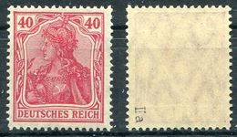 Deutsches Reich Michel-Nr. 145IIa Postfrisch - Geprüft - Deutschland