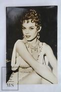 1950's Vintage Real Photo Cinema Film Actress: Young Brigitte Bardot - 14 X 9.2 Cm - Fotos
