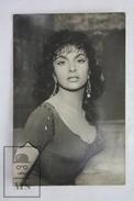 1950's Vintage Real Photo Cinema Film Actress: Gina Lollobrigida - 14 X 9 Cm - Fotos