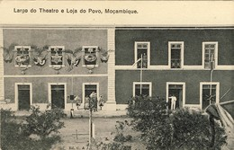 MOÇAMBIQUE - Largo Do Theatro E Loja Do Povo - Mozambique