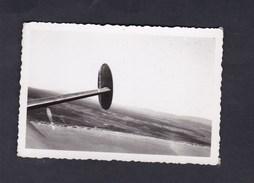 Photo Originale Aviation Guerre 1939 1945 Aileron Potez En Vol ( Armée De L´Air AFN Setif Archives Jean Weill) - Aviation